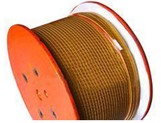 Fiberglass Covered Aluminum Magnet Wire